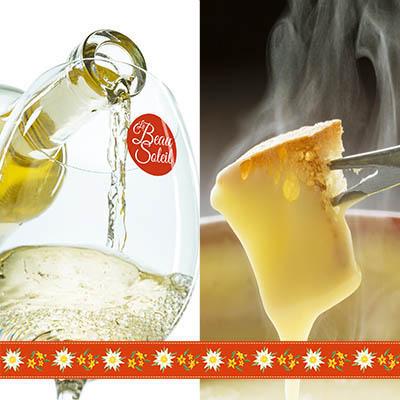 happy-duck-web-post-facebook-montage-effet-beau-soleil-restaurant-design-graphique-saveurs-restaurant-fondue-vin-blanc-menu-communication